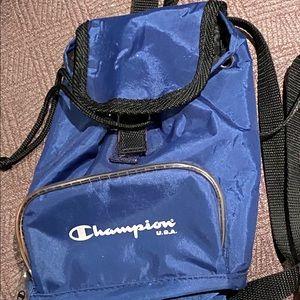 Champion mini backpack.